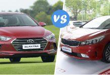 So sánh Kia Cerato và Hyundai Elantra - Lựa chọn nào xứng đáng