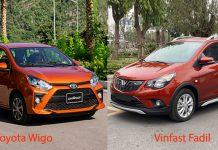 So sánh xe Vinfast Fadil với Toyota Wigo: Chọn xe Việt hay xe Nhật